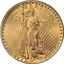 1928 G$20. MS-66 PCGS. CAC.