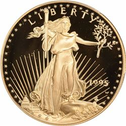1995-W $50 Gold Eagle. One Ounce. Proof-69 DCAM PCGS.