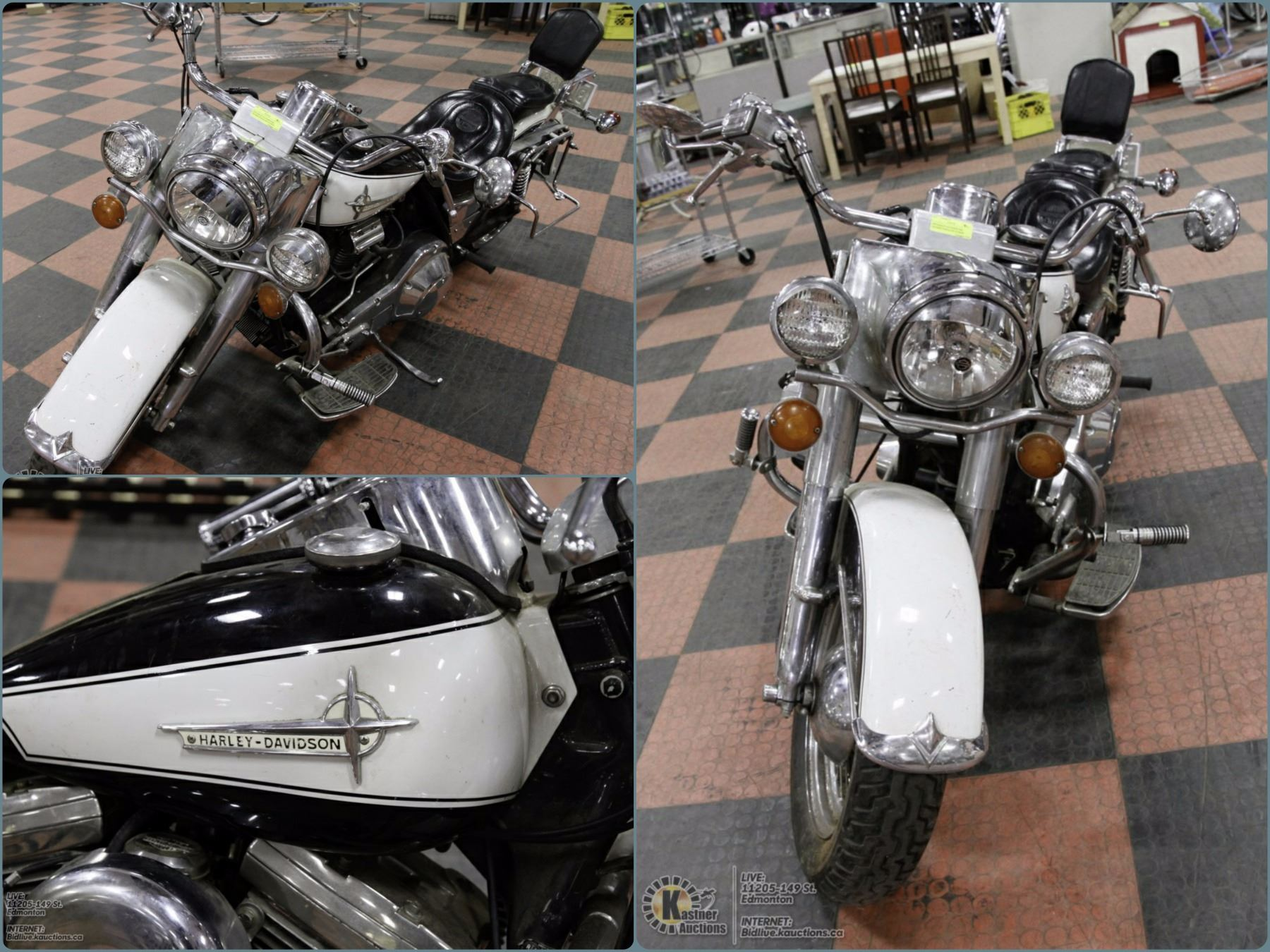 FEATURED ITEM : 1990 HARLEY FXR CRUISER LOT 370