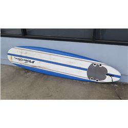 "Surfboard: Wavestorm Soft-Top Longboard, 3 Fins, Approx 23"" x 95"""