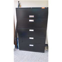 """Lateral Metal Filing Cabinet, HON Approx 42"""" x 20"""""""