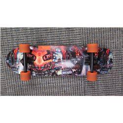 """Skateboard - Tiki Shark, """"Frankenstein/Hot Rod"""" Graphics, 31.5"""" L"""