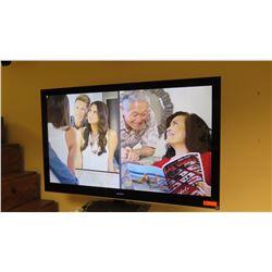 """Sony 60"""" Flat Screen TV & Wall-Mount Hardware, Model KDL-60NX801"""