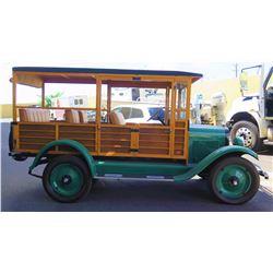 "1926 Chevrolet Suburban Vintage Car - 35 Horsepower, 103"" Length"
