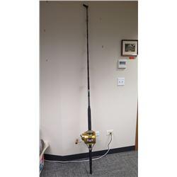 Fishing Rod (Anela) and Gold Reel (Penn Reels 130ST International II)