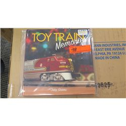 Book - Toy Train Memories by John Grams (Purchased for $50)