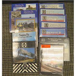 Books: Remembering Santa Fe; Coaling Facilities; Deposits 2, Engineering Series Vol. Eight; The Sant