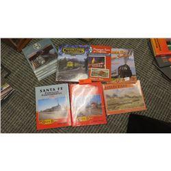 Book: Santa Fe Through Passenger Service, In Color; Santa Fe Through Passenger Service, In Color, Sa