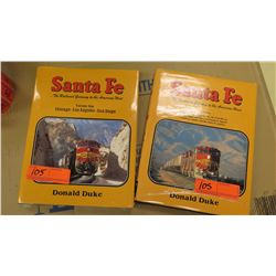 Books: Santa Fe, The Railroad Gateway to the American West, Volume one, Chigaco- Los Angeles-San Die