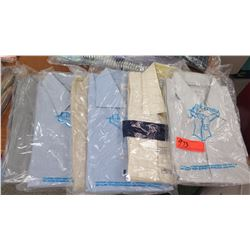QTY 6 Men's Collared Shirts, Drycleaned, Sz L & XL (Brioni, Charles Tyrwhitt, etc)