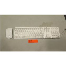Mac USB Keyboard (Model A1243) and Wireless Mouse