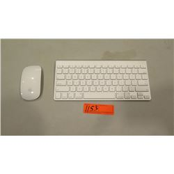 Mac Wireless Bluetooth Keyboard (Model A1314) and Mouse