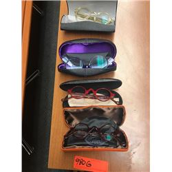4 Prs. Eyewear: Barton Perreira, Morgenthal NY, etc. - Various Brands, Colors, Rx Lenses