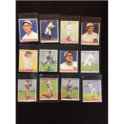 1933 Big League Chewing Gum Baseball Cards Lot Holm Combs Myer More