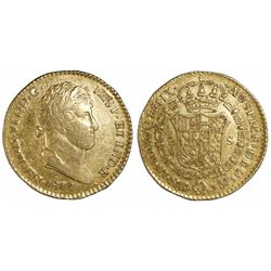 Guatemala, bust 2 escudos, Ferdinand VII, 1817M.