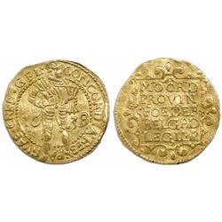 Gelderland, United Netherlands, ducat, 1638/7.