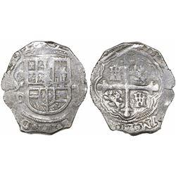 Mexico City, Mexico, cob 4 reales, (1)620/19D, Grade 1.
