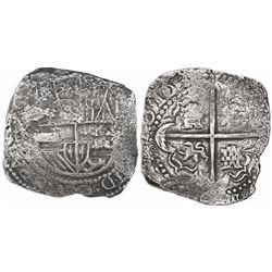 Potosi, Bolivia, cob 8 reales, 163(?)(T).