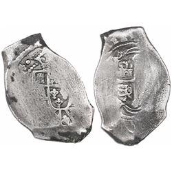 Mexico City, Mexico, cob 8 reales, (171)4(J).