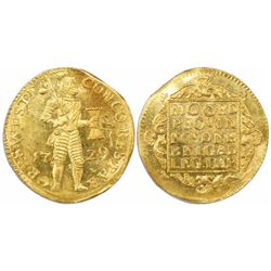 Westfriesland, United Netherlands, gold ducat, 1729.