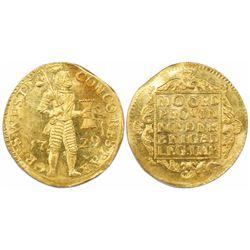 Westfriesland, United Netherlands, gold ducat, 1729.