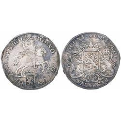 "Holland, United Netherlands, ""rider"" ducatoon, 1734."
