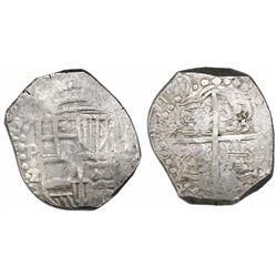 Potosi, Bolivia, cob 8 reales, 1619T.