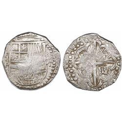 Potosi, Bolivia, cob 8 reales, 1628P.