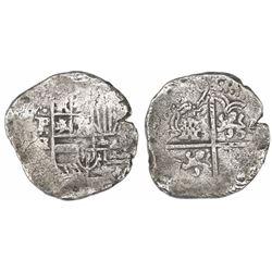 Potosi, Bolivia, cob 8 reales, (163)9TR.
