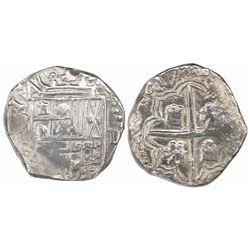 Potosi, Bolivia, cob 2 reales, 1617(M).