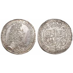 Saxony-Albertine (German States), 2/3 taler, Friedrich August I, 1703ILH, Dresden mint.
