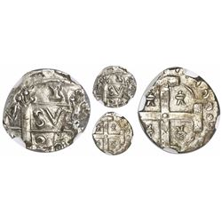 "Comayagua, Honduras, provisional ""imitation cob"" 1 real, 1825-(CY), extremely rare, encapsulated NGC"
