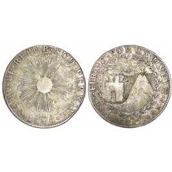 Arequipa, South Peru, 4 reales, 1838MV, ex-Almanzar.