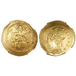 Byzantine Empire, AV histamenon nomisma (scyphate), Constantine X, 1059-67 AD, Constantinople mint,