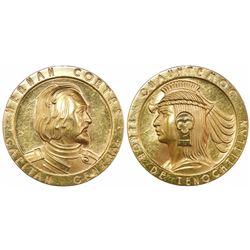 Mexico, gold medal, (1963), Cortes / Cuauhtemoc.