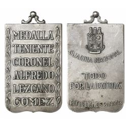 Panama, silver medal, (1956), Alfredo Lezcano Gomez, ex-Richard Stuart.