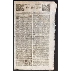 Unique set of newspapers with accounts on the sinking and salvage of the Spanish 1715 Treasure Fleet