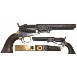 American Colt Model 1849 pocket .36 caliber revolver, 1861.