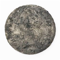France (Paris mint), ecu, Louis XV (large bust), 1754/3-A.