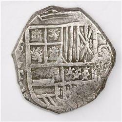 Potosi, Bolivia, cob 8 reales, 161(?)T.