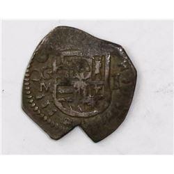 Granada, Spain, cob 1 real, 1611M.