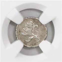 Potosi, Bolivia, 1/4 real, Charles IV, 1800, encapsulated NGC VF 25.