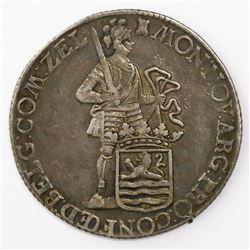 Zeeland, United Netherlands, silver ducat, 1767.