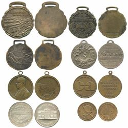Lot of eight Panama service medals, early- to mid-1900s, ex-Richard Stuart.