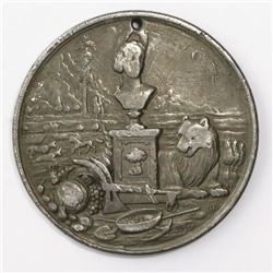 California (USA), California State Agricultural Society, silver medal, (ca. 1890's).