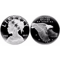 USA (Philadelphia mint), silver 225th Anniversary of the U.S. Mint medal, 2017.
