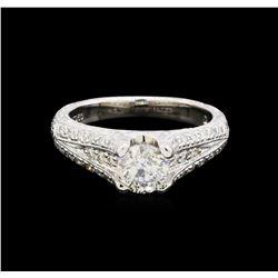 1.14 ctw Diamond Ring - Platinum