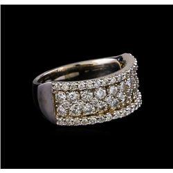 1.89 ctw Diamond Ring - 14KT White Gold