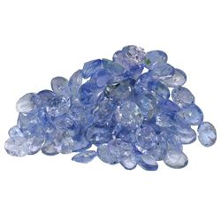 10.73 ctw Oval Mixed Tanzanite Parcel