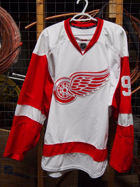 detailed look 0db97 15b52 Detroit Red Wings, Gordie Howe Signed Jersey